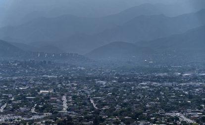 Una vista panorámica de Ciudad Victoria, Tamaulipas.