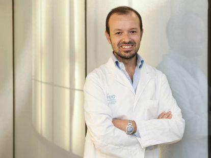 Paolo Nuciforo, investigador en el Vall d'Hebron Instituto de Oncología, en Barcelona.