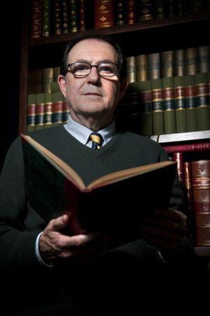 El catedrático Jordi Llovet.