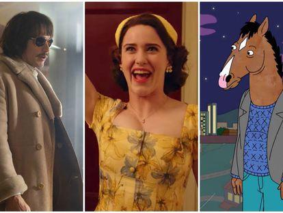 'The Deuce', 'The Marvelous Mrs. Maisel' y 'BoJack Horseman'.