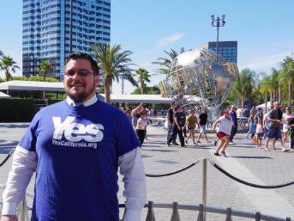 Para Marcus Ruiz conseguir la independencia de California es un propósito político mucho más importante que las elecciones presidenciales