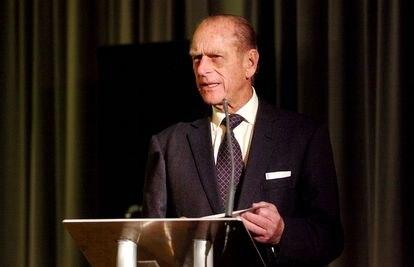 El duque de Edimburgo en la entrega de The Prince Philip Designer's Prize en el Design Council de London, en 2004.