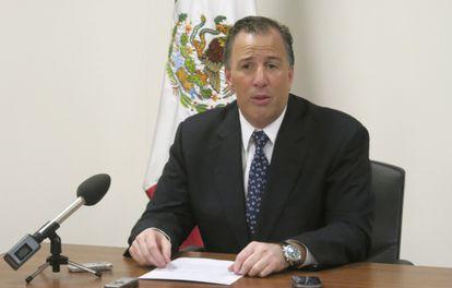 El canciller mexicano Meade en Ginebra, este martes