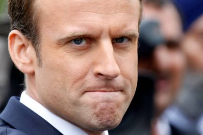 El presidente francés Emmanuel Macron en París el pasado mes de junio.