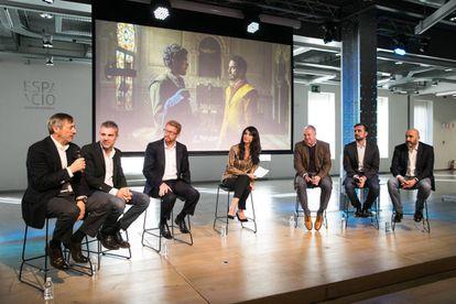 Presentación de la estrategia global de las series de Movistar +.