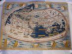 AAP551 SYDNEY (AUSTRALIA)20/10/07 : Fotografía sin fecha de un mapamundi de 1482, un incunable obra de Ptolomeo, robado de la Biblioteca Nacional española, que ha sido recuperado en una galería de Sydney, Australia. hoy sábado 20 de octubre. EFE/- Prohibido su uso en Australia y Nueva Zelanda