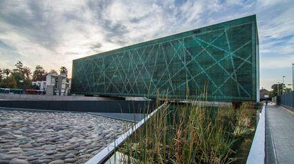 El Museo de la Memoria, en Santiago de Chile.