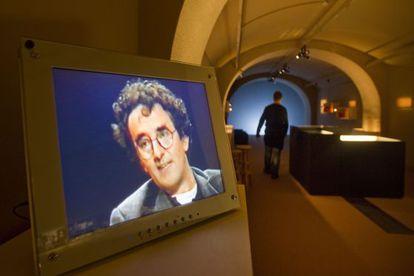 Imagen de la exposición Archivo Bolaño.