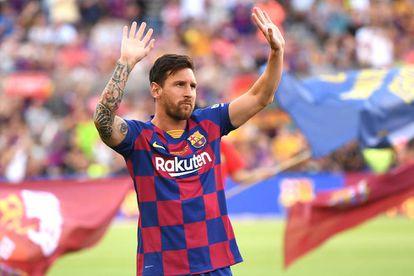 Lionel Messi durante un partido celebrado en Barcelona en 2019.