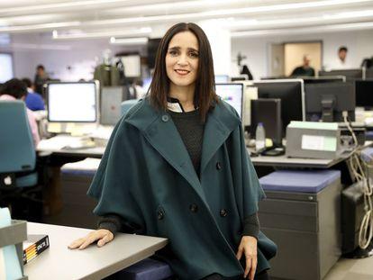 Julieta Venegas en la redacción de El País.