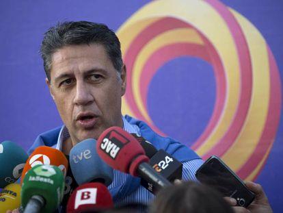 El líder del PP de Cataluña, Xavier Garcia Albiol.