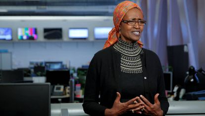 Winnie Byanyima, directora ejecutiva de Oxfam Internacional.