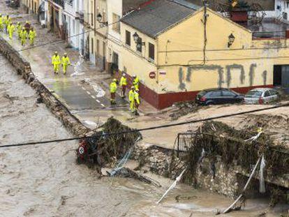 La gota fría causa desbordamientos de ríos, desalojos y destrozos en la Comunidad Valenciana, Murcia y Castilla-La Mancha
