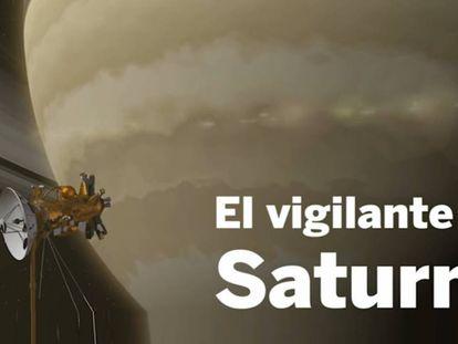 La sonda Cassini y Saturno