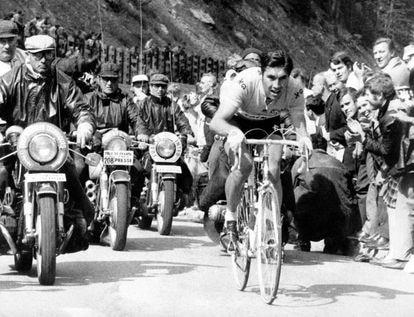Eddy Merckx en la etapa Luchon-Mourenx del Tour de 1969.