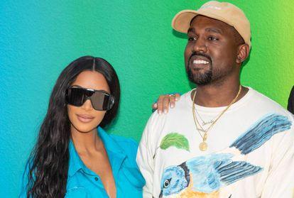 Kanye West y su mujer Kim Kardashian en París el pasado mes de junio.