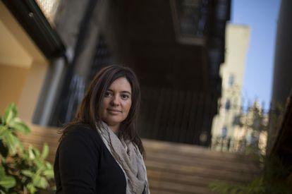 La periodista Anna Teixidor.