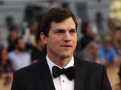 El actor Ashton Kutcher, el pasado enero en Los Ángeles.