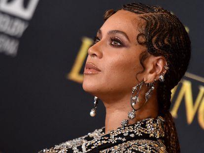 Beyoncé, en el estreno de 'El rey león' en Los Ángeles, California, el 9 de julio de 2019.