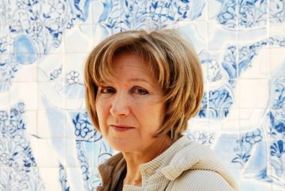 La escritora portuguesa Lídia Jorge en enero, en Lisboa.