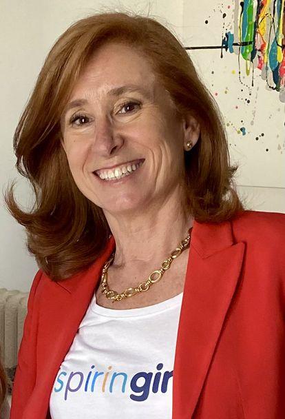 Marta Pérez Dora es la fundadora en España de la Fundación 'Inspiring Girls'.