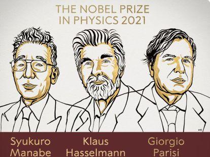Premios Nobel de Física.