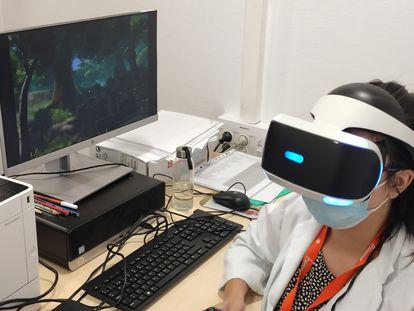 The Secret Trail of Moon es un videojuego de realidad virtual que ha sido creado para complementar el tratamiento de jóvenes con TDAH.