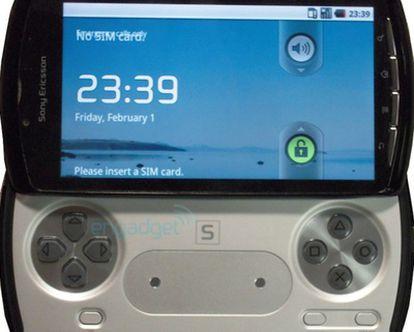Engadget publicó este prototipo de teléfono PlayStation.