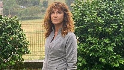 Silvia Labayrú, sobreviviente de la dictadura argentina, en su casa el día después de la sentencia contra dos exoficiales de inteligencia.