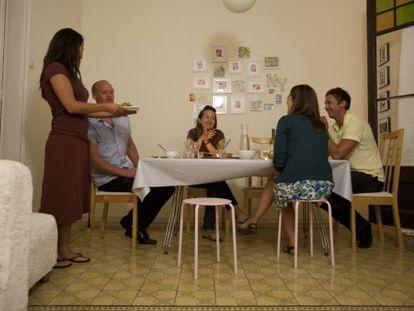 Un sopar d'Eatwith, a casa de Leonor
