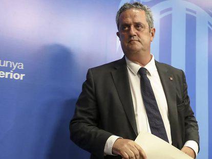Joaquim Forn, en agosto de 2017. En vídeo, declaraciones del diputado del PdCat Carles Campuzano.