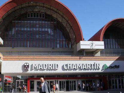 La estación de Chamartin en la actualidad.