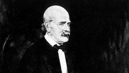 Imágen del médico hungaro, Ignaz Semmelweis