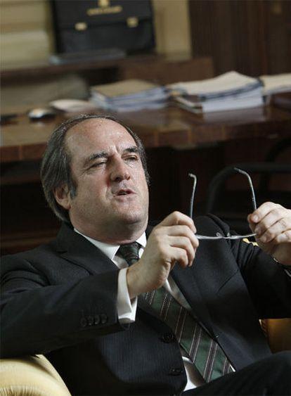 Ángel Gabilondo, el pasado viernes en el Ministerio de Educación en Madrid.