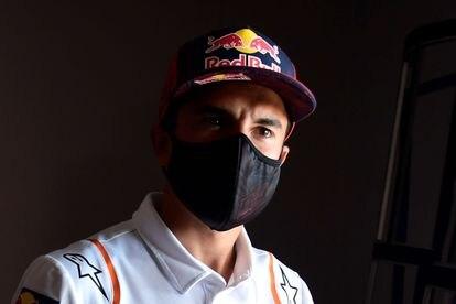 Marc Márquez, en el circuito de Jerez, donde se retoma la competición.