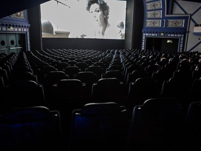 El cine Comedia, en Barcelona, en una imagen de archivo.