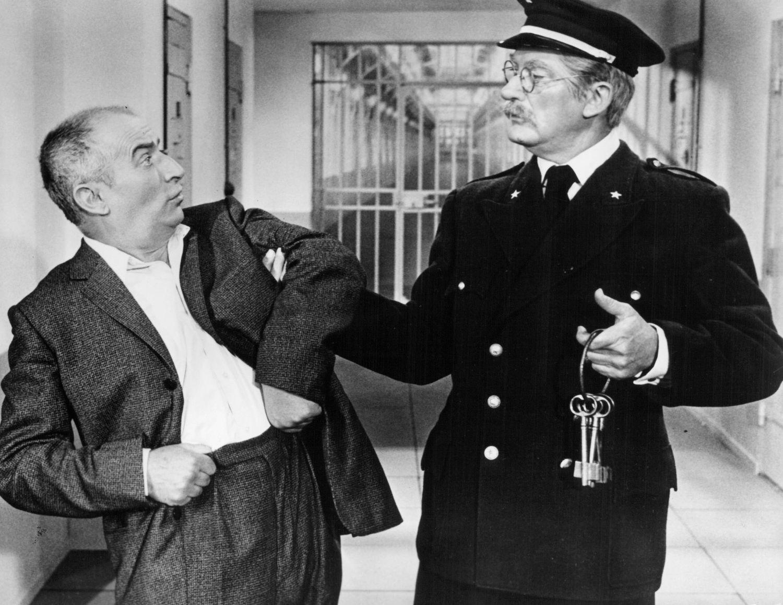 Louis de Funès (a la izquierda), en una imagen de la película 'Fantomas', de 1964.