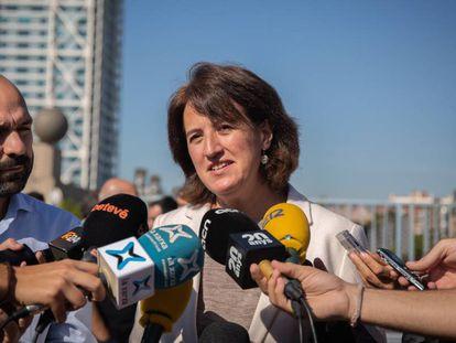 La presidenta de la Asamblea Nacional Catalana, Elisenda Paluzi.
