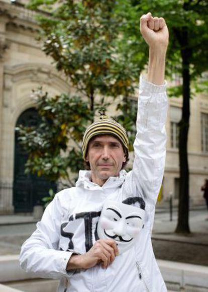 El activista Jean Baptiste Redde, 'Voltuan'.