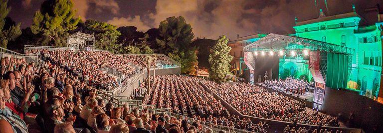 Imagen de la pasada edición del Festival Jardins de Pedralbes.