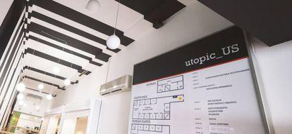Esta empresa ha transformado una galería comercial en el espacio de coworking y transformación social de 2.000 m2 que es ahora mismo.