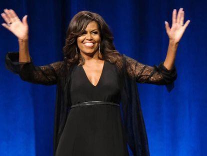 La exprimera dama estadounidense Michelle Obama, en Florida el pasado mayo.