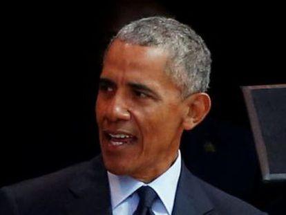Intervención de Barack Obama en la Conferencia Anual sobre Nelson Mandela de 2018