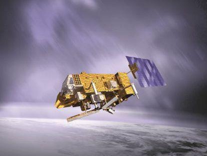 Ilustración del satélite meteorológico polar 'Metop-B'.