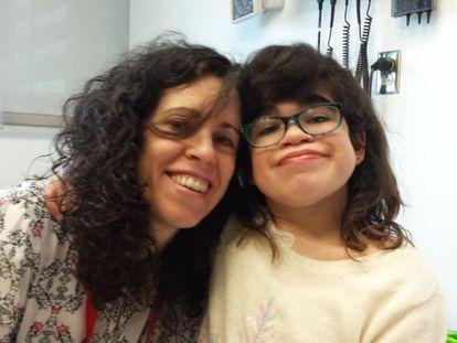 Elena, la niña con Sanfilippo B.