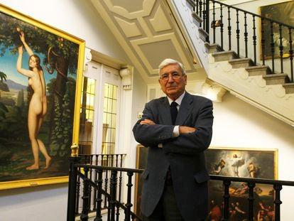 Antonio Bonet Correa, en 2009 en una imagen en la Academia de Bellas Artes.