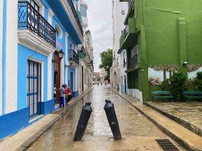 La calle San Isidro en la actualidad