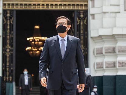 El expresidente de Perú, Martín Vizcarra, en una imagen de diciembre de 2020.