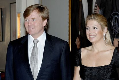 Guillermo y Máxima, príncipes de Holanda, en un concierto en Ámsterdam el pasado 31 de mayo.