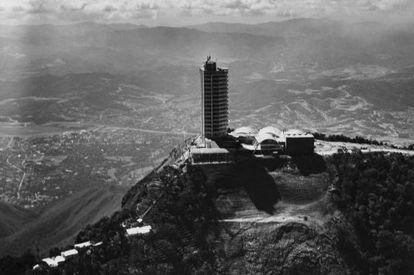Hotel Hunboldt en Caracas, Venezuela.